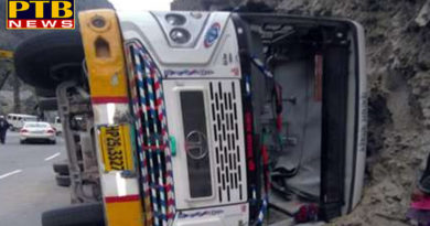 PTB Big Bus Accident News in Himachal sirmor
