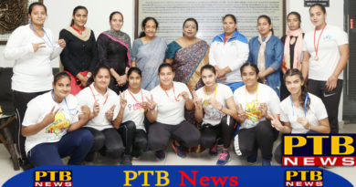 HMV College shines in Power and Weight Lifting Championship