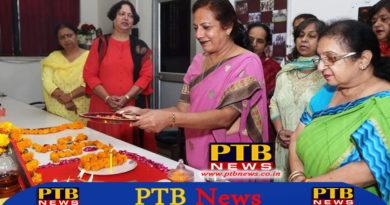 Green Diwali Safe Diwali Celebration in S.D. College Jalandhar