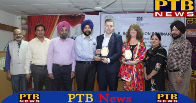 Organized seminars related to British Visa at Lyallpur Khalsa College