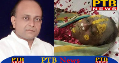 bhajan singer vinod aggarwal was died in mathura UP