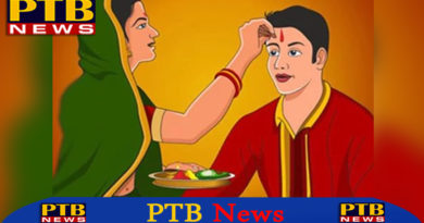 Bhai Dooj sisters wish long life for brother