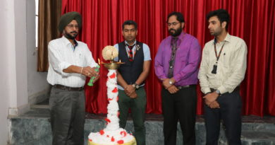 Seminar organized on Digital Journalism in St. Soldier College