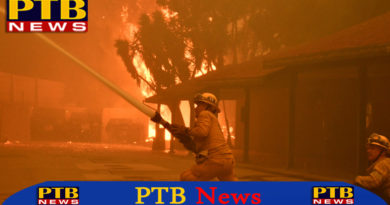 PTB Big Breaking News nine people died in fire of california america