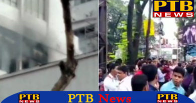Fire in Kolkata's Street Park 10 vehicles on fire