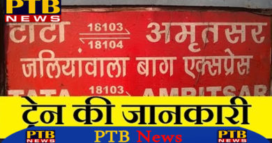 PTB Big Breaking News pregnant women killed in jallianwala express train in shahjahanpur uttar pradesh