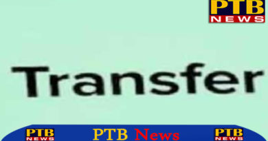 Transfer police department 23 inspectors changed chandigarh