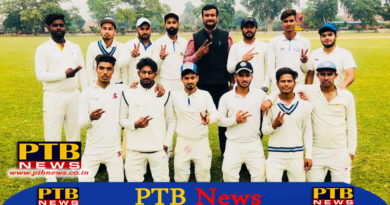 Trinity team continues to perform in league matches of University Cricket Tournament