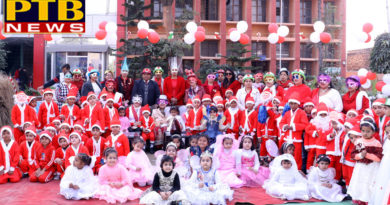 Christmas was Celebrated by St Soldier Group of Institutions