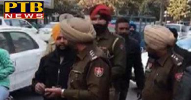 PTB Big Political Newspunjab news senior akali leader detained at rajiv gandhi body
