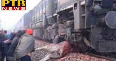 PTB Big Accident Newssangroor chennai jammutawi express met with accident in sangroor