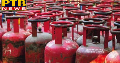 PTB Big Breaking News delhi ncr price of non subsidised lpg at delhi will decrease by rs 120 per cylinder