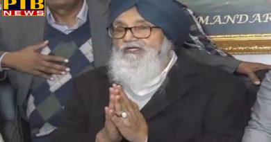 PTB Big Breaking Newspunjab news akali dal in amaritsar Former CM Punjab Parkash singh Badal