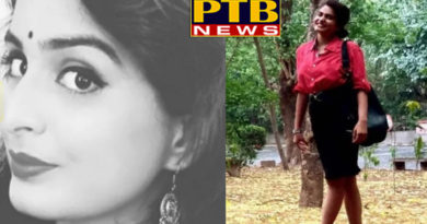 PTB Big Crime Newsnoida news channel lady anchor fall off 4th floor in suspicious condition died