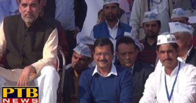 PTB Big Political News ruckus on aam aadmi partys rally in sonipat