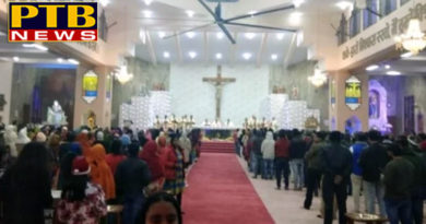 PTB News Dharmik christmas celebrated in church at indians
