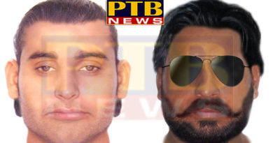 PTB Big Breaking News Sketches by police of two robbers robbery in Hoshiarpur