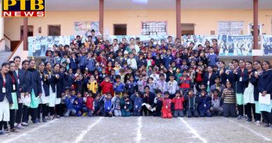 Annual Sports Meet at St Soldier Divine Public School Khambra Branch