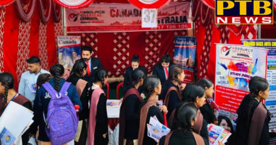 Jalandhar's Famous resource Overseas Immigration Agency took part in Spark-2011