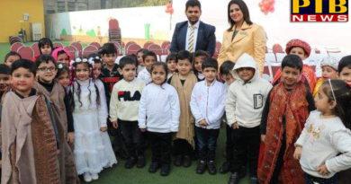 "PTB News ""शिक्षा""Christmas Celebration in IVY World School jalandhar"