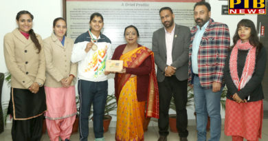 """PTB News """"शिक्षा""""HMV won Gold Medal in Javelin Throw in Khelo India Youth Games"""