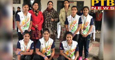 Leilpur Khalsa College for Women, Jalandhar Girls' Superb Performance in Hockey Games