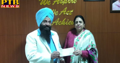 Lalalpur Khalsa College for Women's Meritorious Students Received Financial Assistance