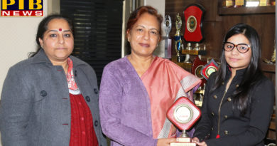 Former student of SD College for Women, Kritika Sharma won the CA examination in the first attempt