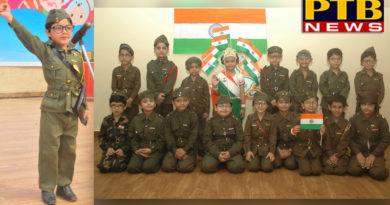 Celebrated Birth Anniversary of Neta Ji Subhash Chander Bos at innocent hearts Group