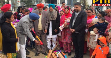 PTB Big Political News Pargat Singh, MLA from Jalandhar Cant, celebrated with Lohri Dhiyan di