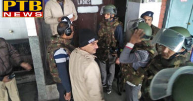 PTB Big Breaking Newspunjab news mock drill in bus stand chandigarh Punjab Police