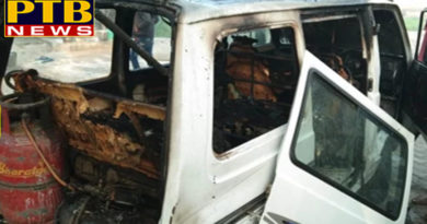 "PTB News ""शिक्षा""uttar pradesh varanasi fire in school van 14 student injured in bhadohi"