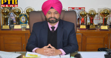 The Principal of Mehr Chand Polytechnic College Jalandhar has successfully completed his ten years
