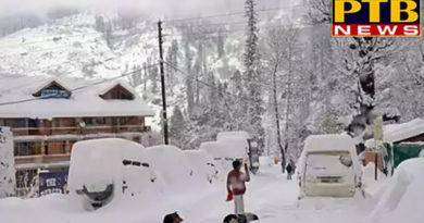 PTB Big Breaking Newshimachal pradesh heavy snowfall in himachal life disrupts