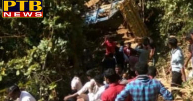 PTB Big Accident Newsindia news odisha truck overturned at poiguda ghat near baliguda in kandhamal 8 killed 25 injured PTB Big Breaking
