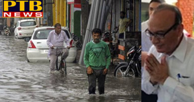 JalandharRain is continuously happening in Jalandhar Mayor jagdesh raj raja Congress party capton amrinder singh minister navjot singh sidhu
