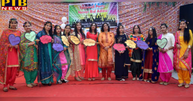 St. Soldier's Model House gave the farewell party to 12 students