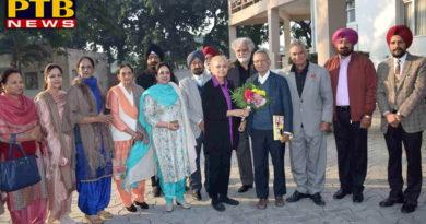 Lyallpur Khalsa College for Women Principal Dr. Navjot kaur Congratulations to Anit Kaur Hundal on receiving Chair