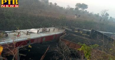 PTB Big Breaking Newsjharkhand dhanbad naxals blasted track goods train derailed in dhanbad jhnj
