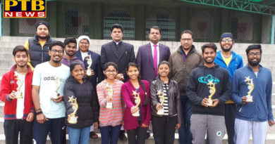 Students of Trinity College brought laurels to the institution in Spark 2019