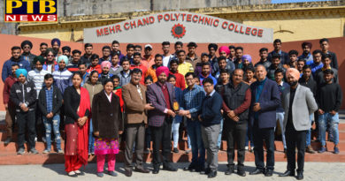 Mehr Chand Polytechnic College Jalandhar organizes seminar on mobile radiation impact on human