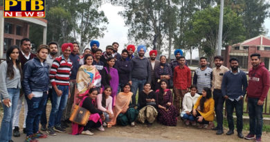 Organized for one day tour for students of Lyallpur Khalsa College Jalandhar