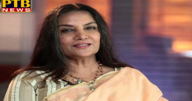 "PTB Big News ""मनोरंजन"" Entertainment bollywood actress shabana azmi suffering from swine flu"