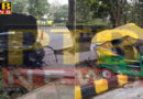 PTB Big Accident News alcohol Businessman Ponty Chadha's nephews hit a strong collision with Marie Auto new delhi crime article ponty chadha nephew car badly hits autorickshaw at vinay marg new