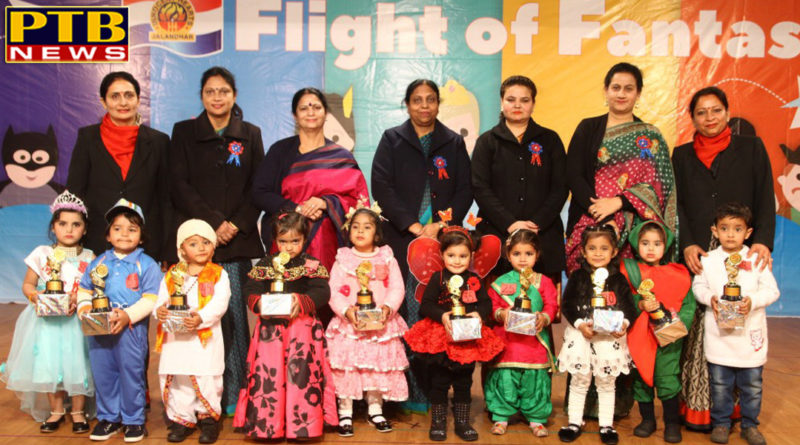 Tiny Tots of INNOKIDS exhibited their talent in Fancy Dress Competition
