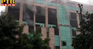 PTB Big Shocking News delhi ncr fire breaks out in noida sector 11 metro hospital reason unknown relief work underway all updates