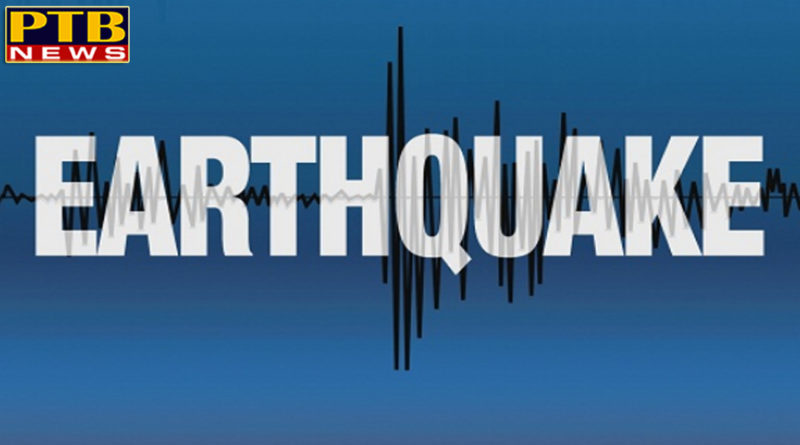 PTB Big Breaking News Himachal Pradesh earthquake with a magnitude of 3.5 on the richter scale hit kangra himachal pradesh