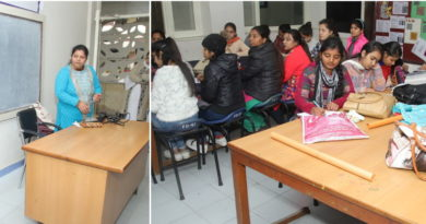Workship by pidilite Industries at SD College for women Jalandhar