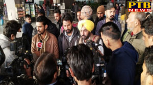 PTB Big Breaking News Punjab bhagwant mann the punjabi youth trapped in armenia arrived safely in india PTB Big Beaking News