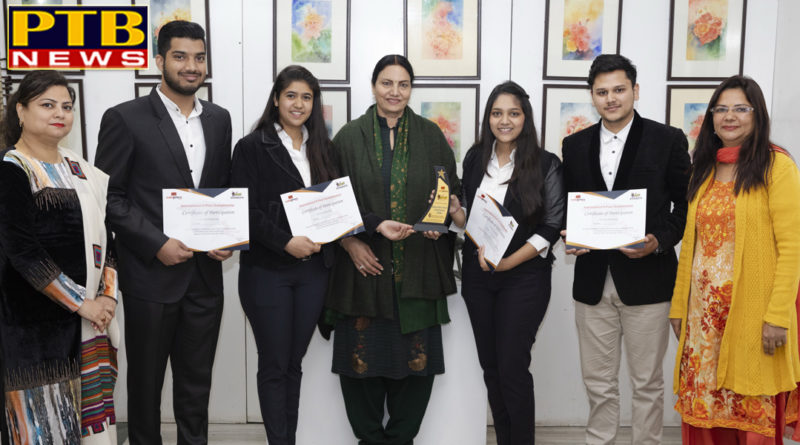 APEEJAY STUDENTS RULE THE ROOST IN 'ECHOS' AT KOZHIKODE Jalandhar